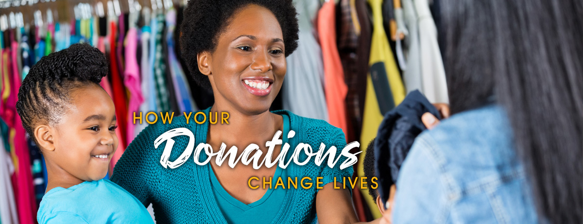 How Your Donations Change Lives