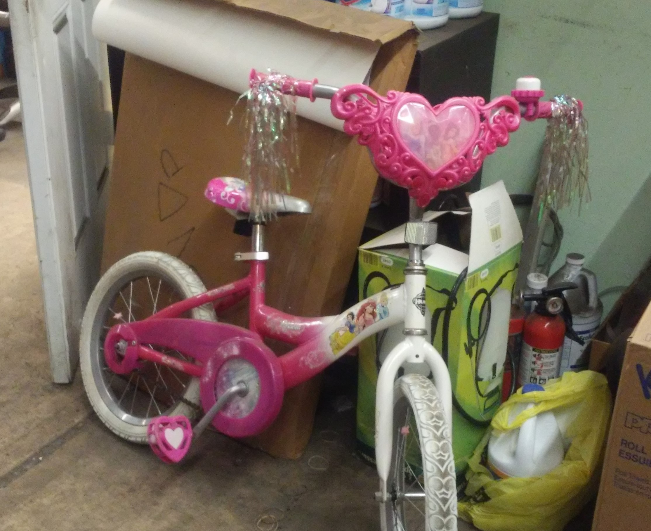 Kids Disney Princess Bike For Sale - Pink - Training Wheels Not Included - Used