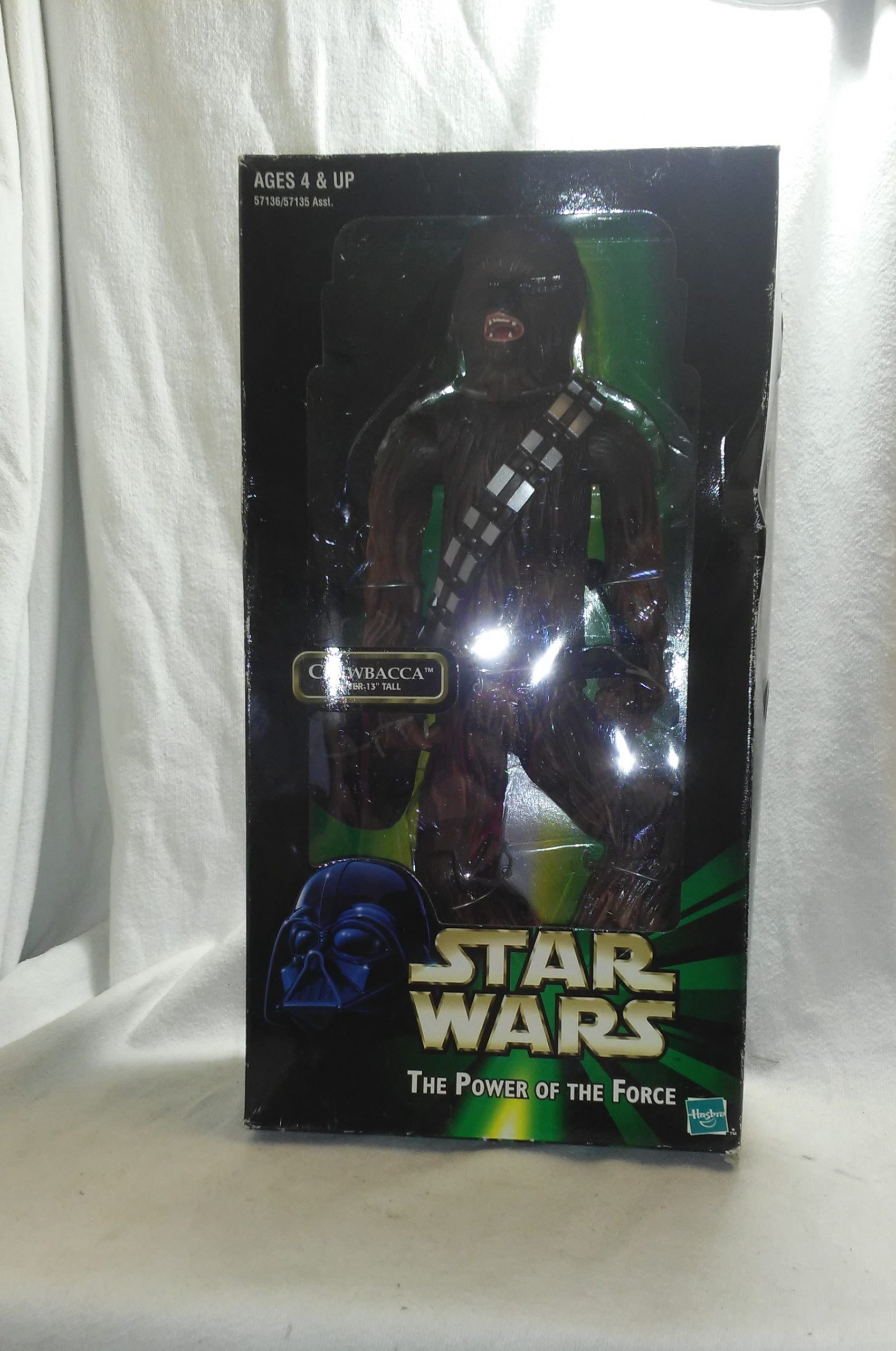 "Chewbacca 13"" Action Figure Star Wars Power of The Force For For Sale - Unopened/Box Sealed"
