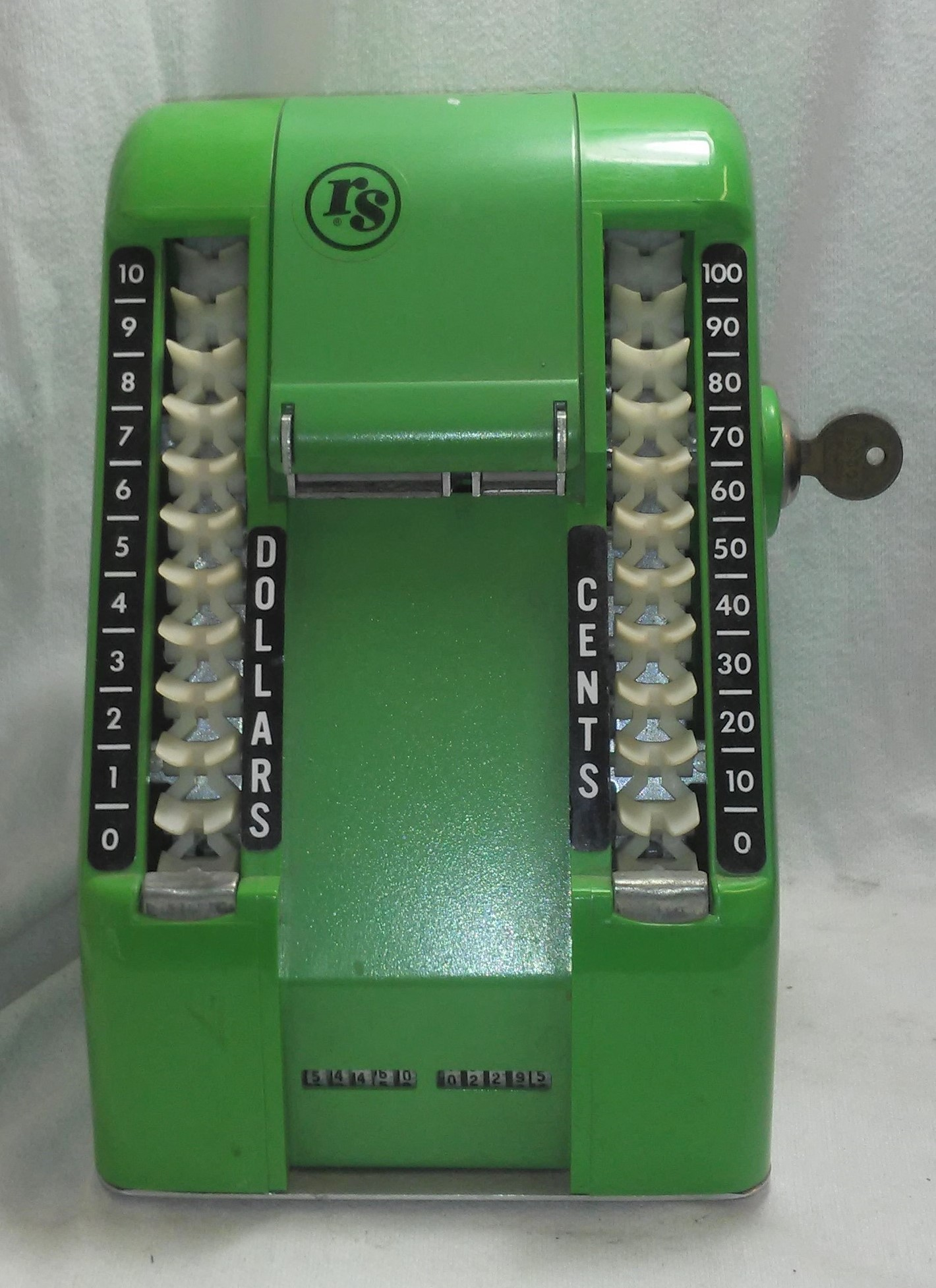 Antique S&H Green Stamps Vending Machine Dispenser For Sale- Key/Other Parts Included - Used