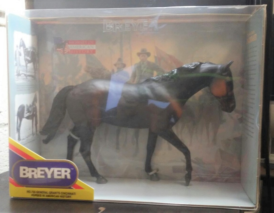 Breyer Horse #755 General Grant's Cincinatti Horses in American History - New
