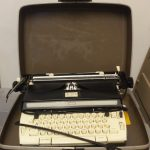 Vintage/Antique Sears Typewriter with Case For Sale – Used