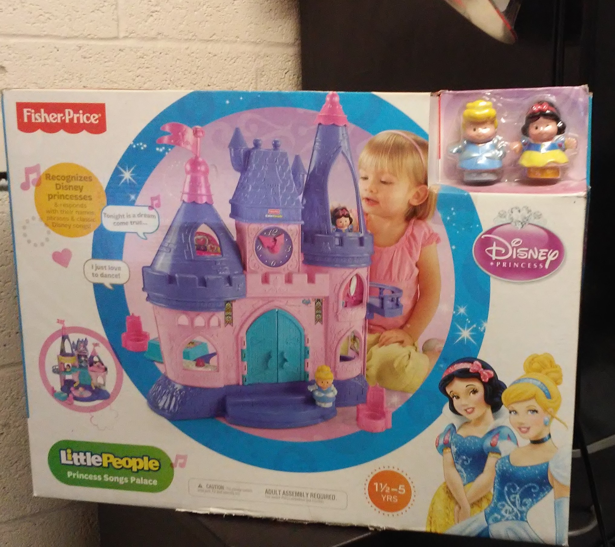 Fisher-Price Little People Disney Princess Songs Palace (2012) For Sale - New/Never Used