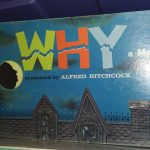 VINTAGE 1958 WHY Mystery Game Presented by ALFRED HITCHCOCK – Used