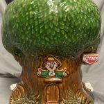 Vintage Keebler Elf Treehouse Cookie Jar